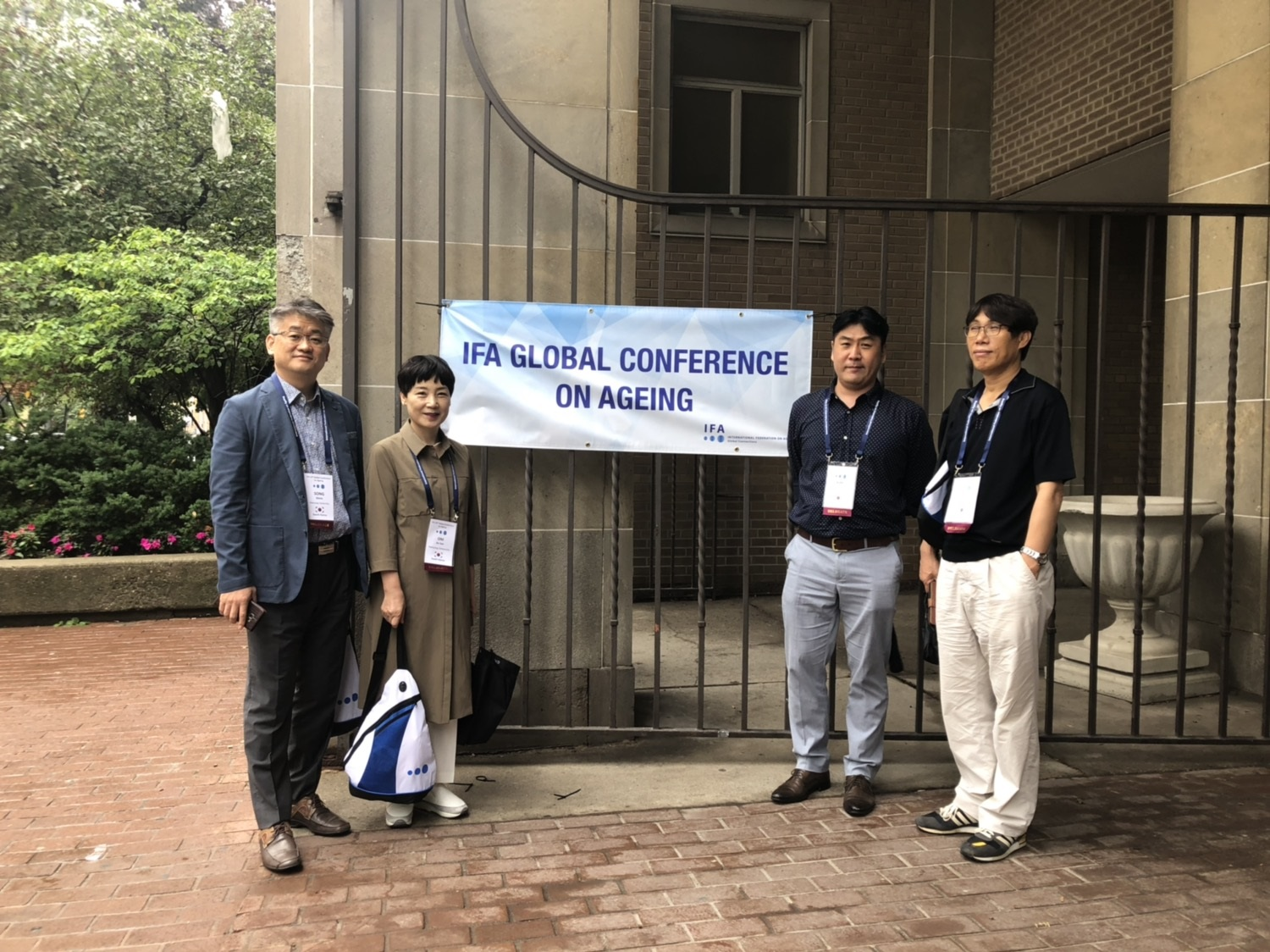 IFA Global Conference on Ageing 참석